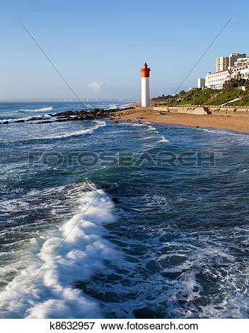 Picture of lighthouse in Umhlanga, South Africa k8632957.