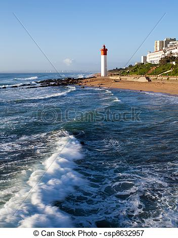 Picture of lighthouse in Umhlanga, South Africa.
