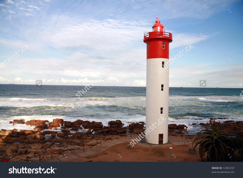 Lighthouse Umhlanga South Africa Stock Photo 12581257.