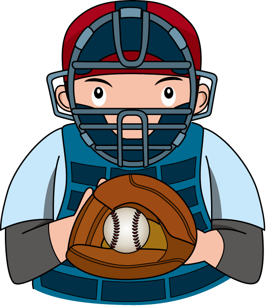 Baseball umpire clipart.