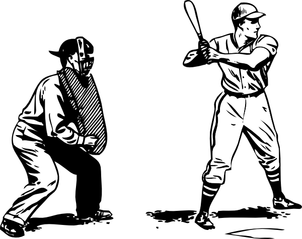 Baseball umpire clipart free.