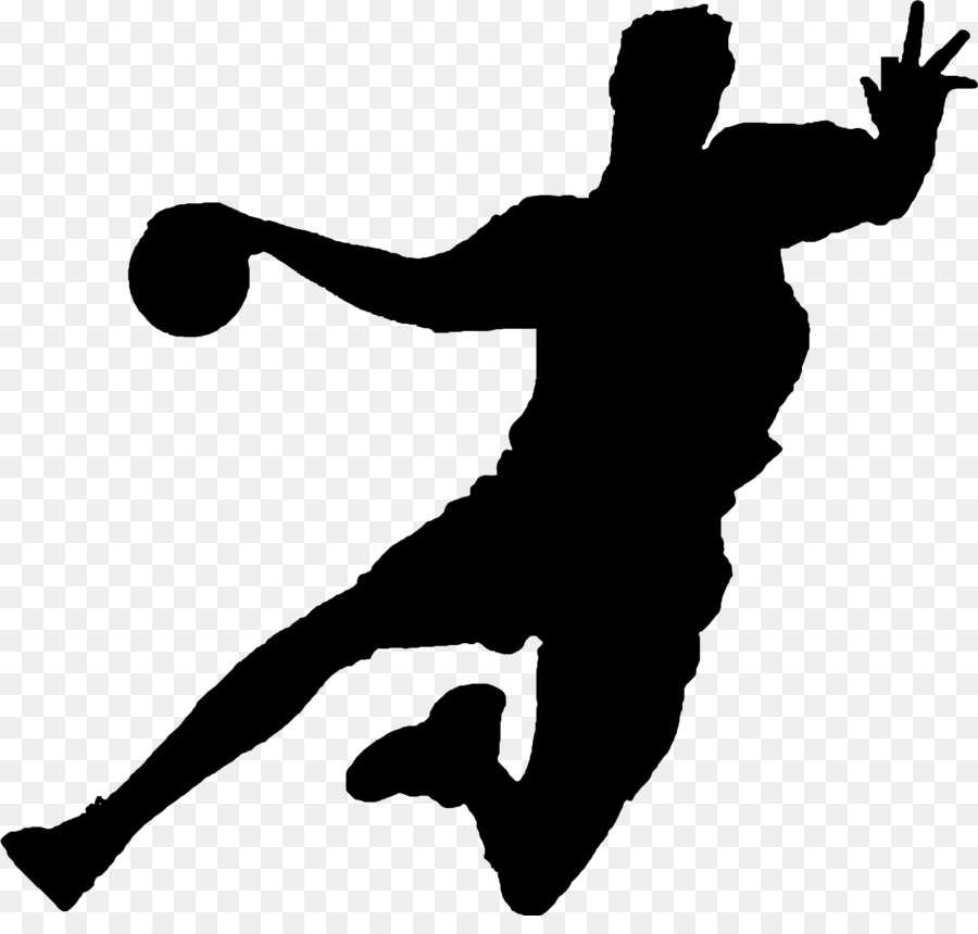 silhouette volleyball player throwing a ball playing sports.