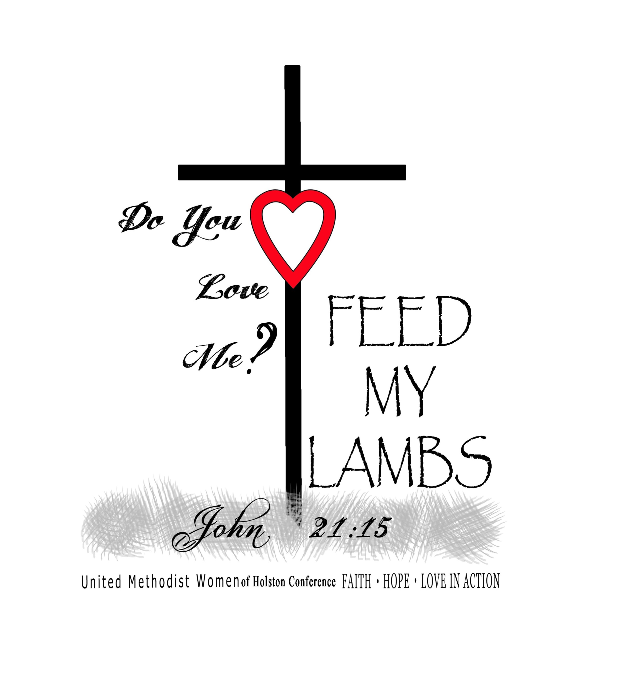 Feed My Sheep Clipart.