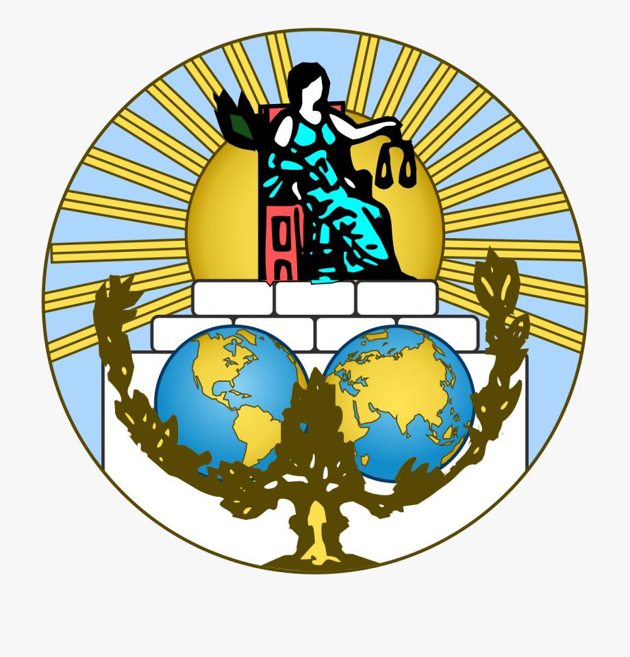 Un International Court Of Justice Logo , Transparent Cartoon.
