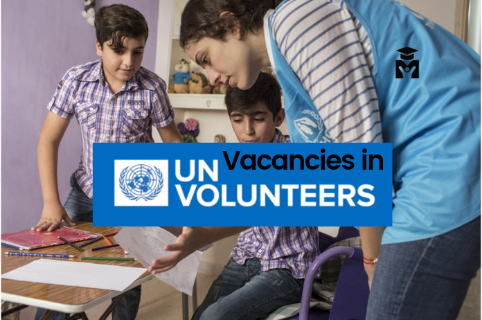 Vacancies for United Nation Volunteers 2019.