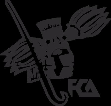 FCA UNAM vector logo.