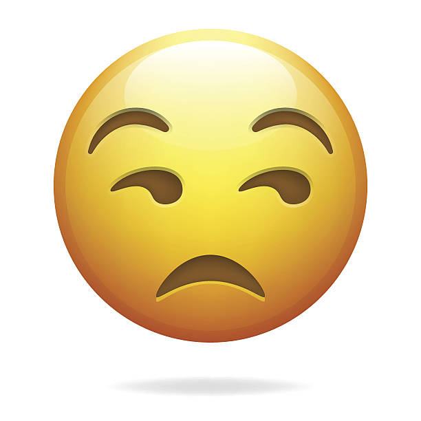 Unamused Face Emoji Clip Art, Vector Images & Illustrations.