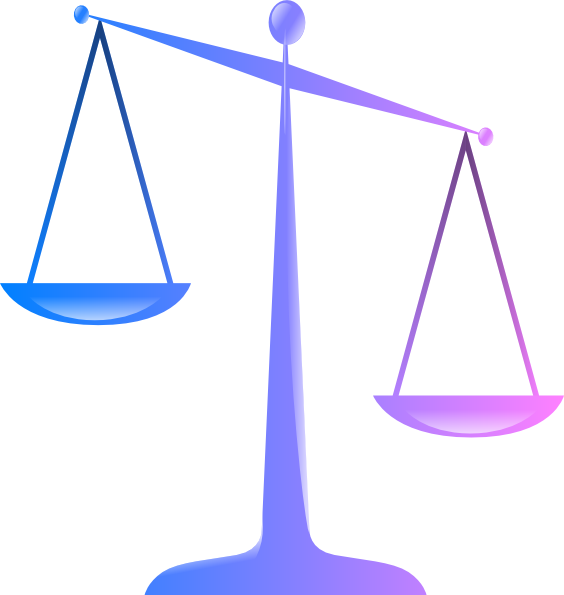 Legal clipart unbalanced scale, Legal unbalanced scale.