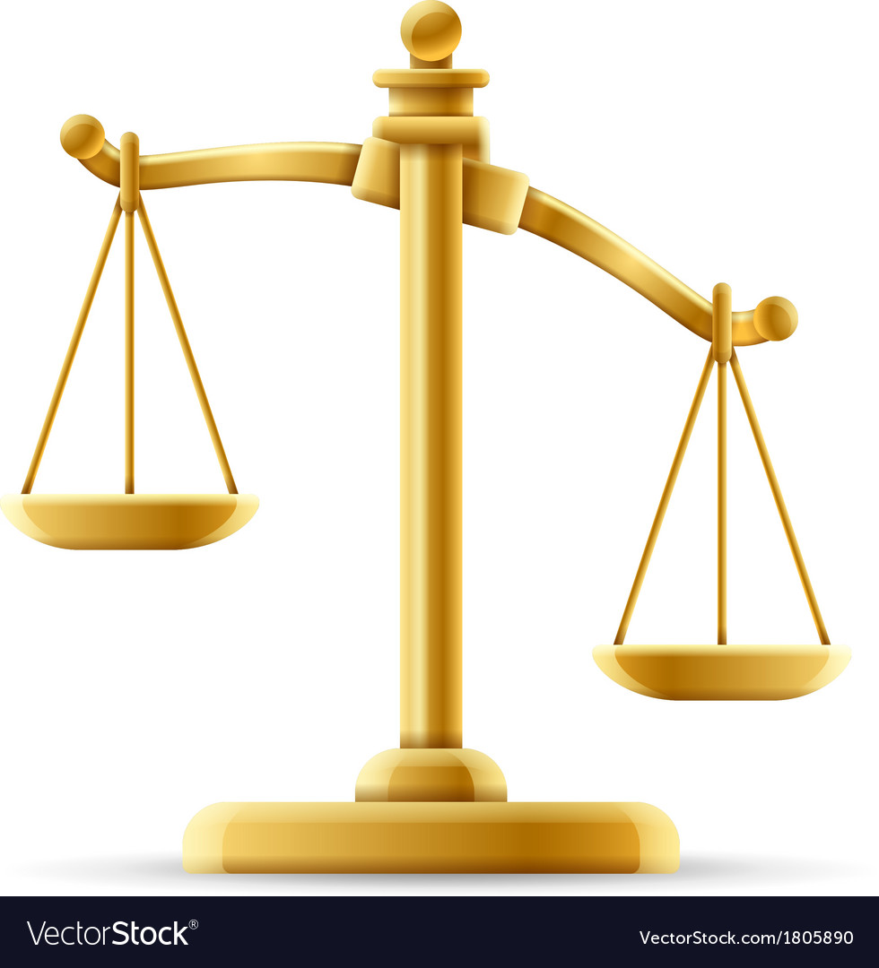 Unbalanced Scale of Justice.