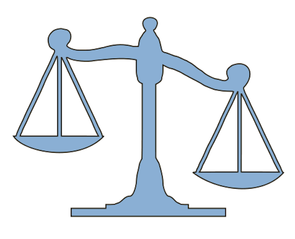 unbalanced justice scale clipart Measuring Scales Clip art.
