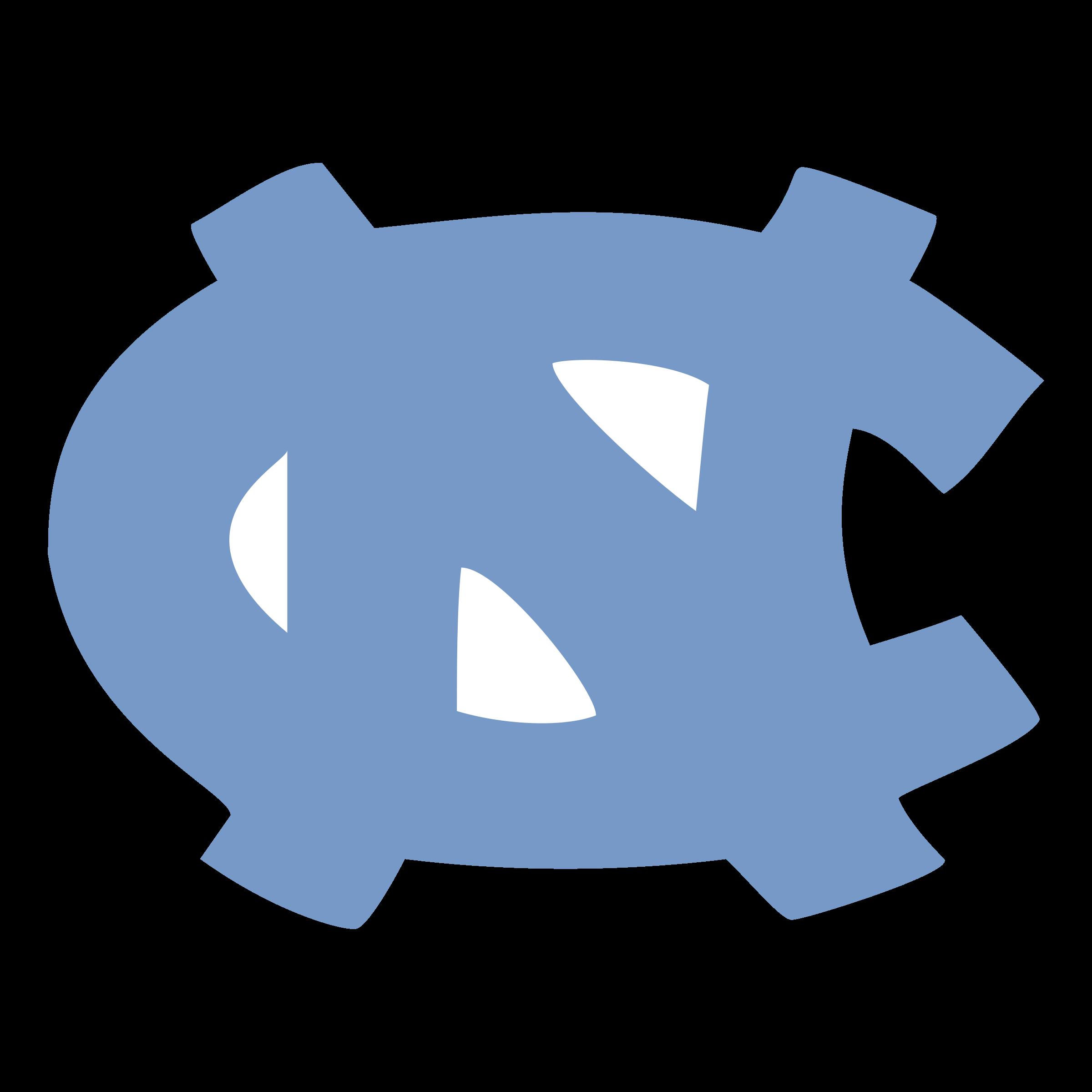 UNC Tar Heels Logo PNG Transparent & SVG Vector.