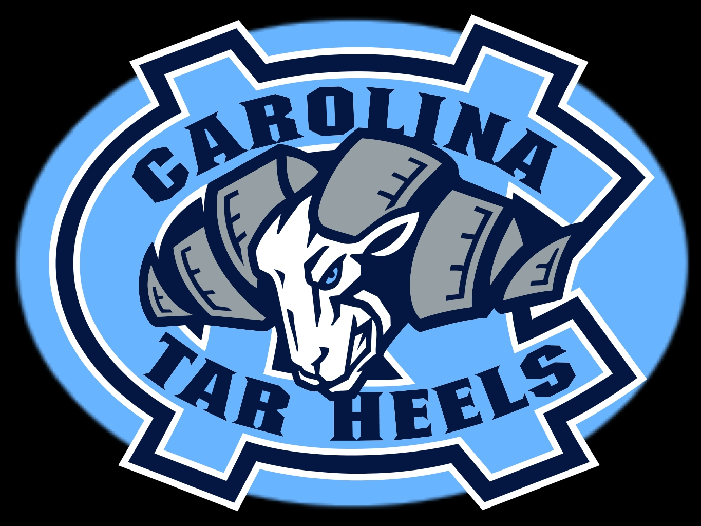 North carolina tar heels Logos.