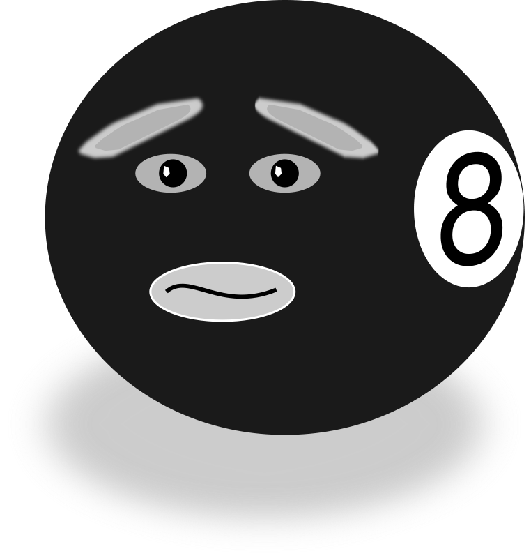Free Clipart: Uncertain Eight.