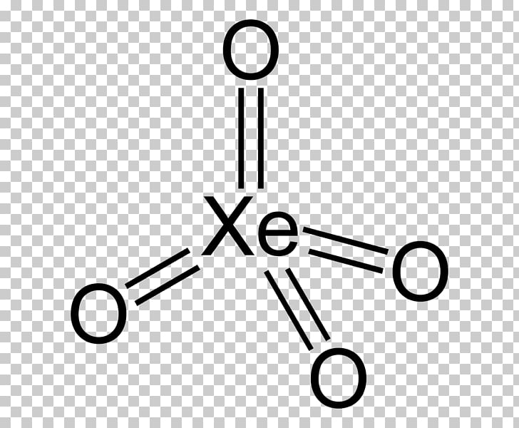 Xenon tetroxide Lewis structure Molecular geometry Xenon.