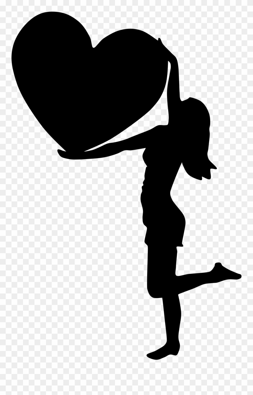 Clip Art Black And White Silhouette At Getdrawings.