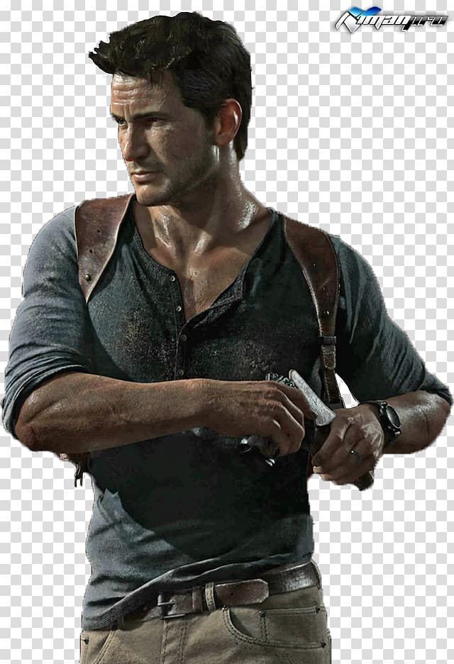 Nathan from Uncharted game illustration, Uncharted 4: A.