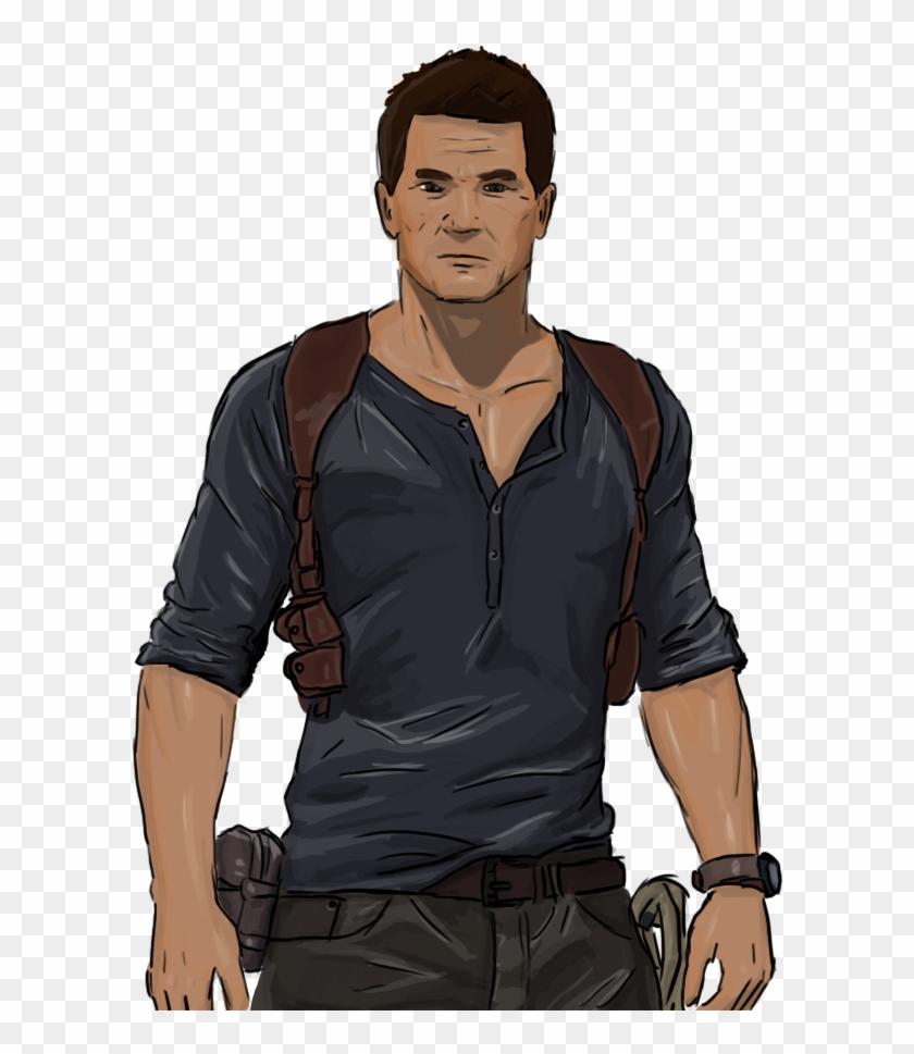 Nathan Drake Uncharted Free Png Image.