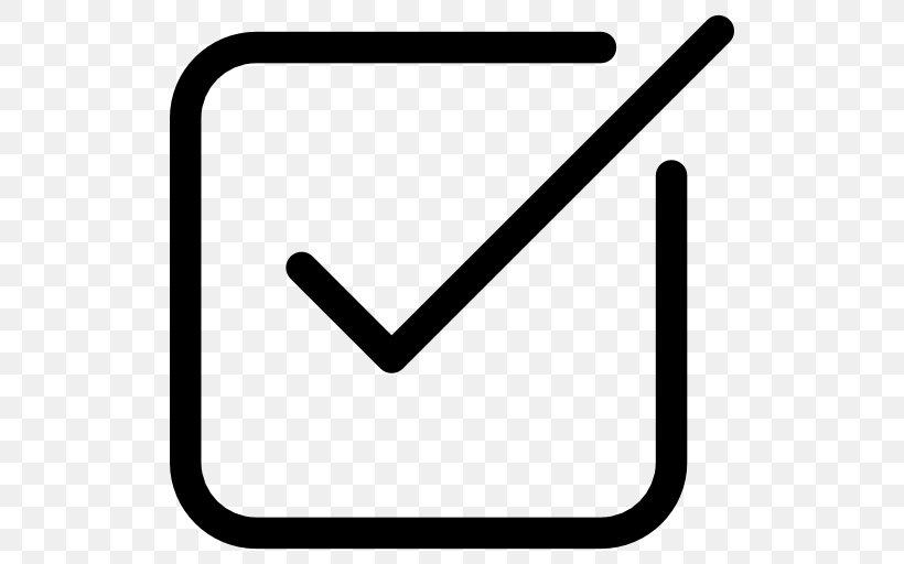 Checkbox Check Mark Clip Art, PNG, 512x512px, Checkbox.