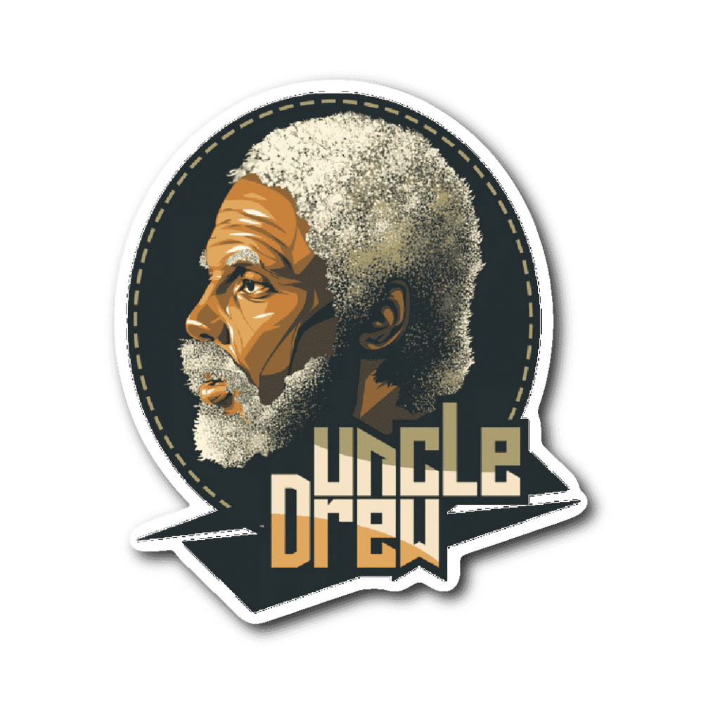 Uncle Drew Vinyl Sticker.