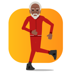 Facebook / Messenger Uncle Drew stickers. Free download.