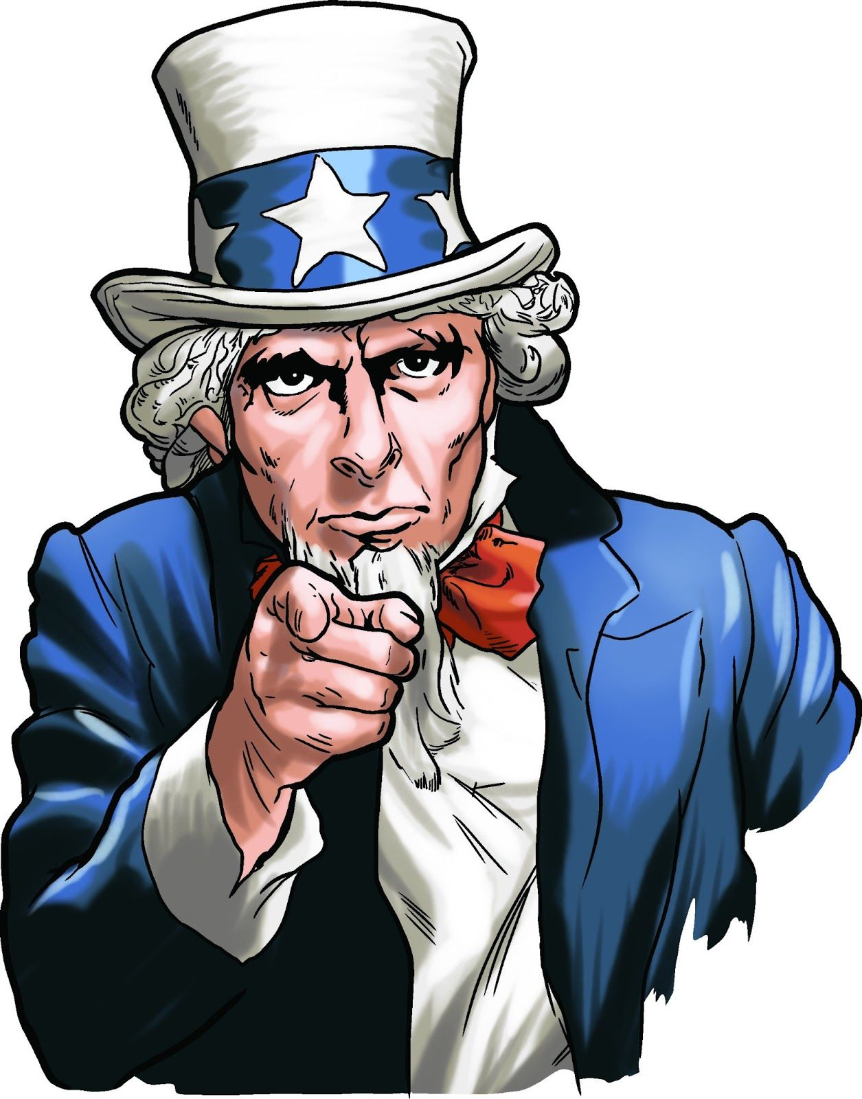Free download I Want You Uncle Sam Clipart for your creation.