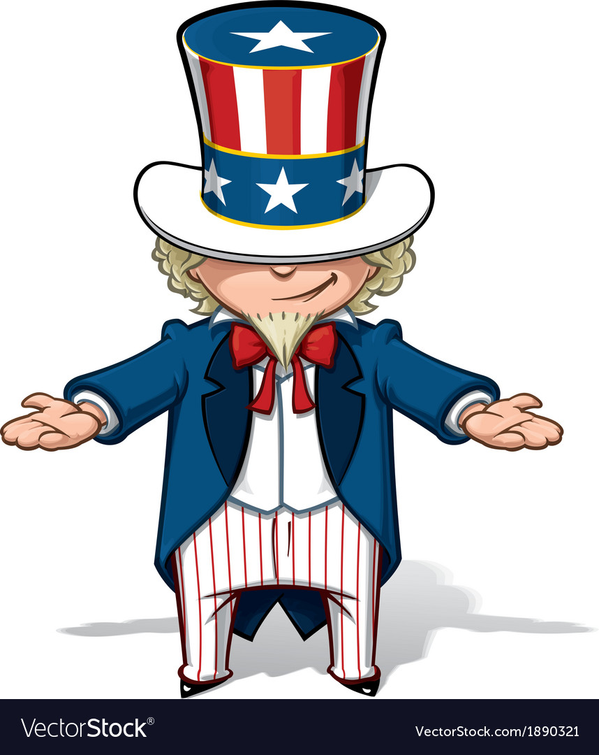 Uncle Sam Showing.