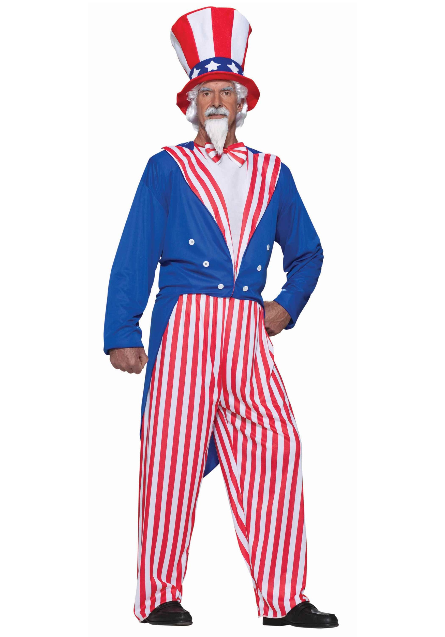 Uncle sam clipart full body.