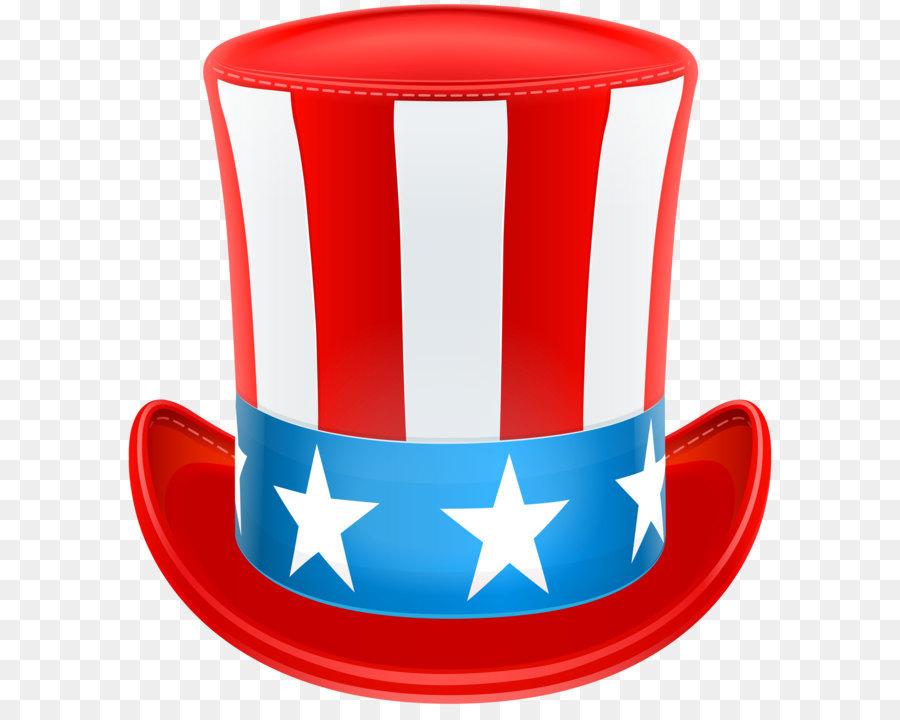 Uncle Sam Hat Background png download.