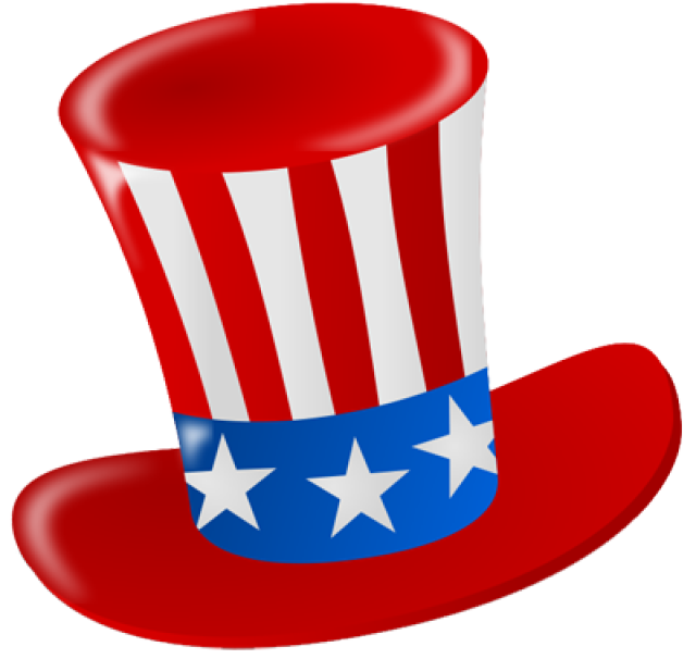 Uncle Sam Hat Clip Art free image.