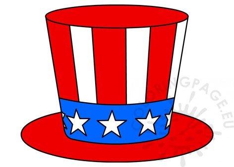 Uncle Sam hat clipart.