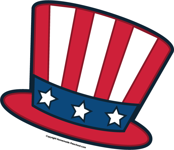 Uncle Sam Hat Clipart.