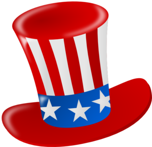 Uncle sam hat clip art.