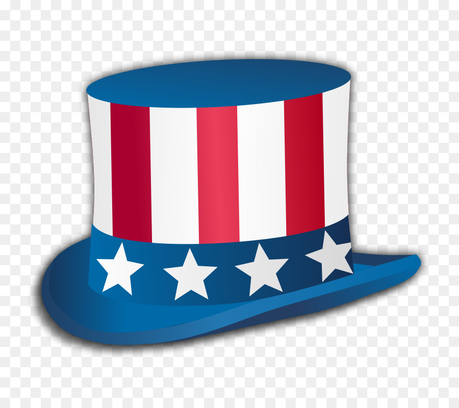 Uncle Sam Hat Background clipart.