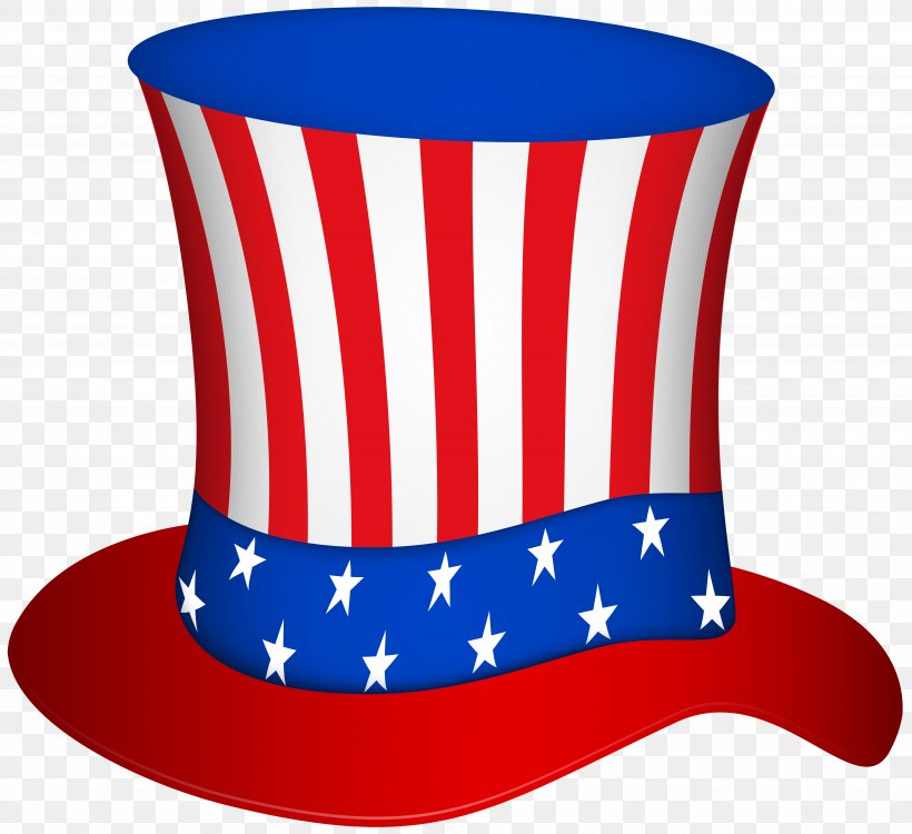 Uncle Sam United States Hat Clip Art, PNG, 8000x7325px.