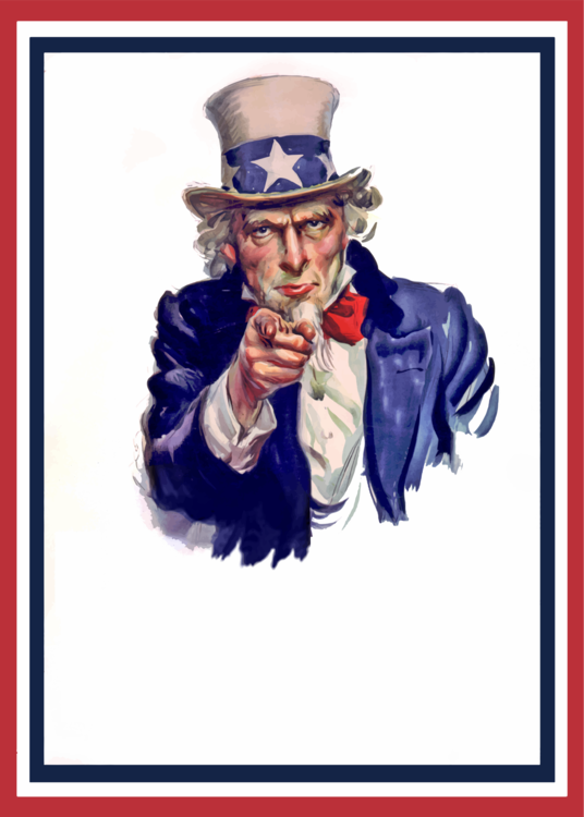 Uncle Sam I Want You Clipart Flagg Ksscc James.