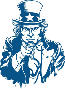 Free Clipart Uncle Sam Wants You.