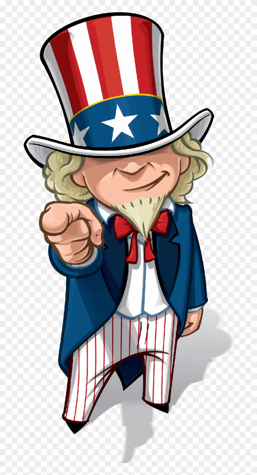 Uncle Sam Cartoon Drawing Clipart (#4928602).