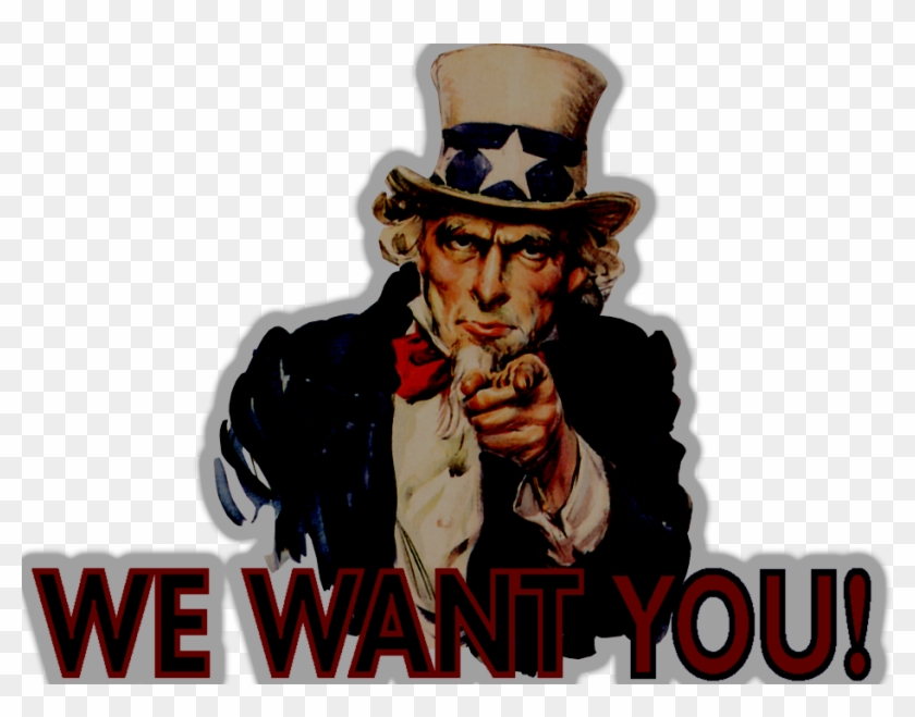 Uncle Sam I Want You Png, Transparent Png (#293744), Free.