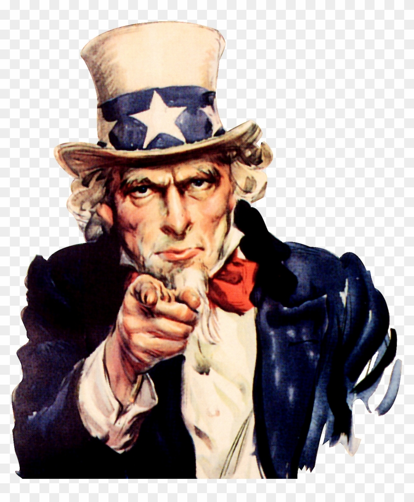 Uncle Sam We Want You.