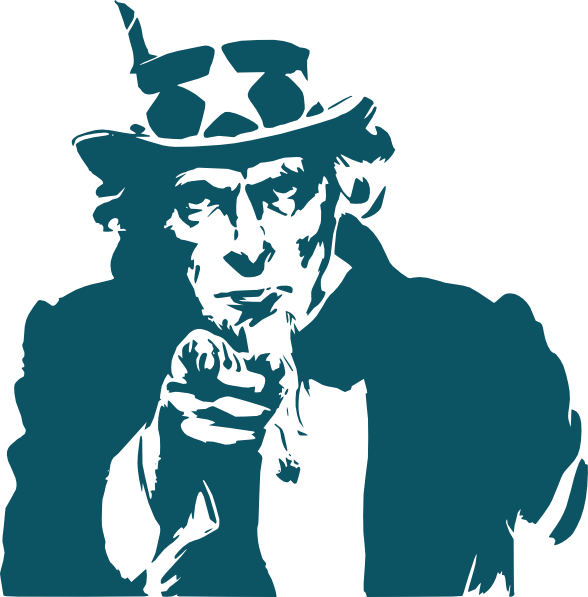 Uncle Sam We Want You Clip Art.