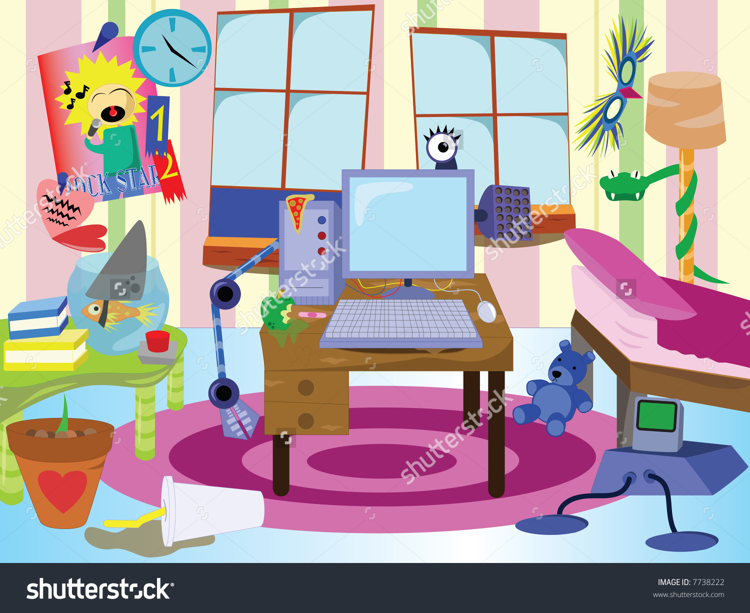 Living Room Clipart For Kids.