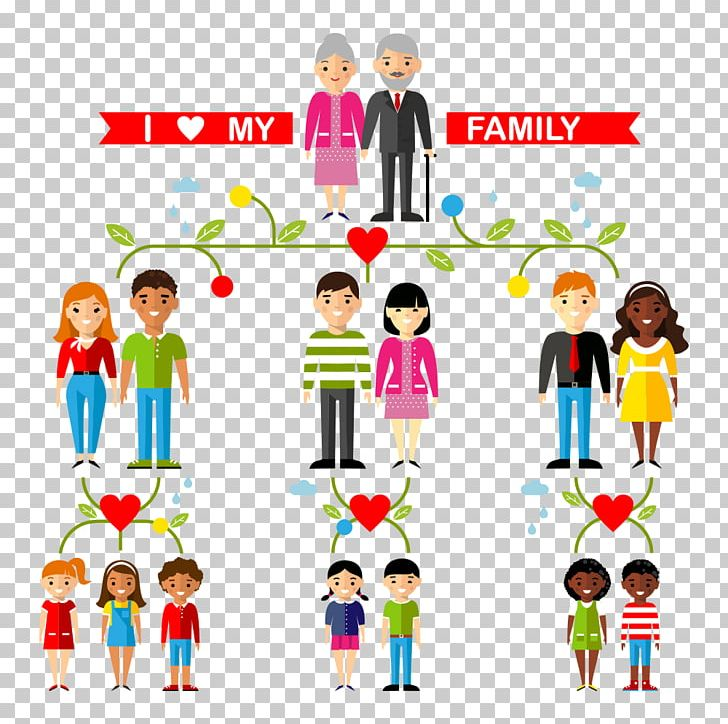 Family Tree Aunt Uncle Illustration PNG, Clipart, Cartoon.