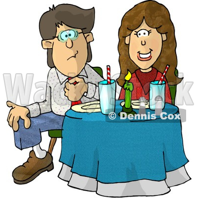 Uncomfortable Clipart by Dennis Cox.
