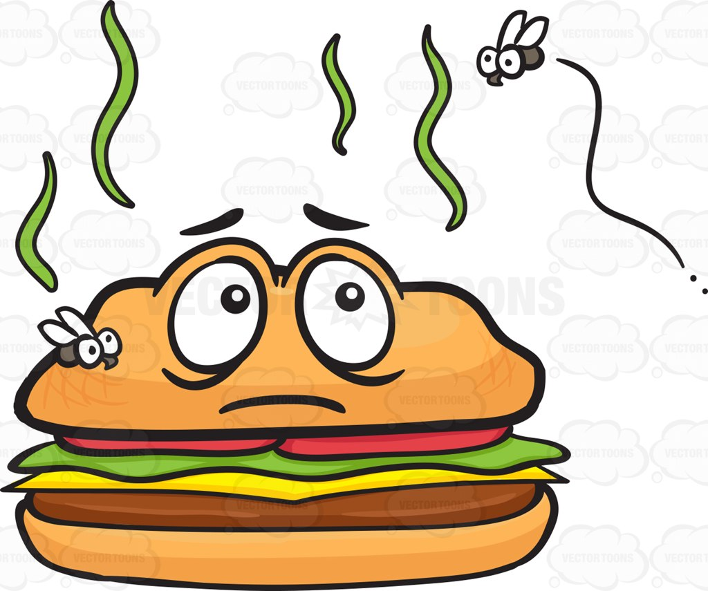 Uncovered Food Clipart.