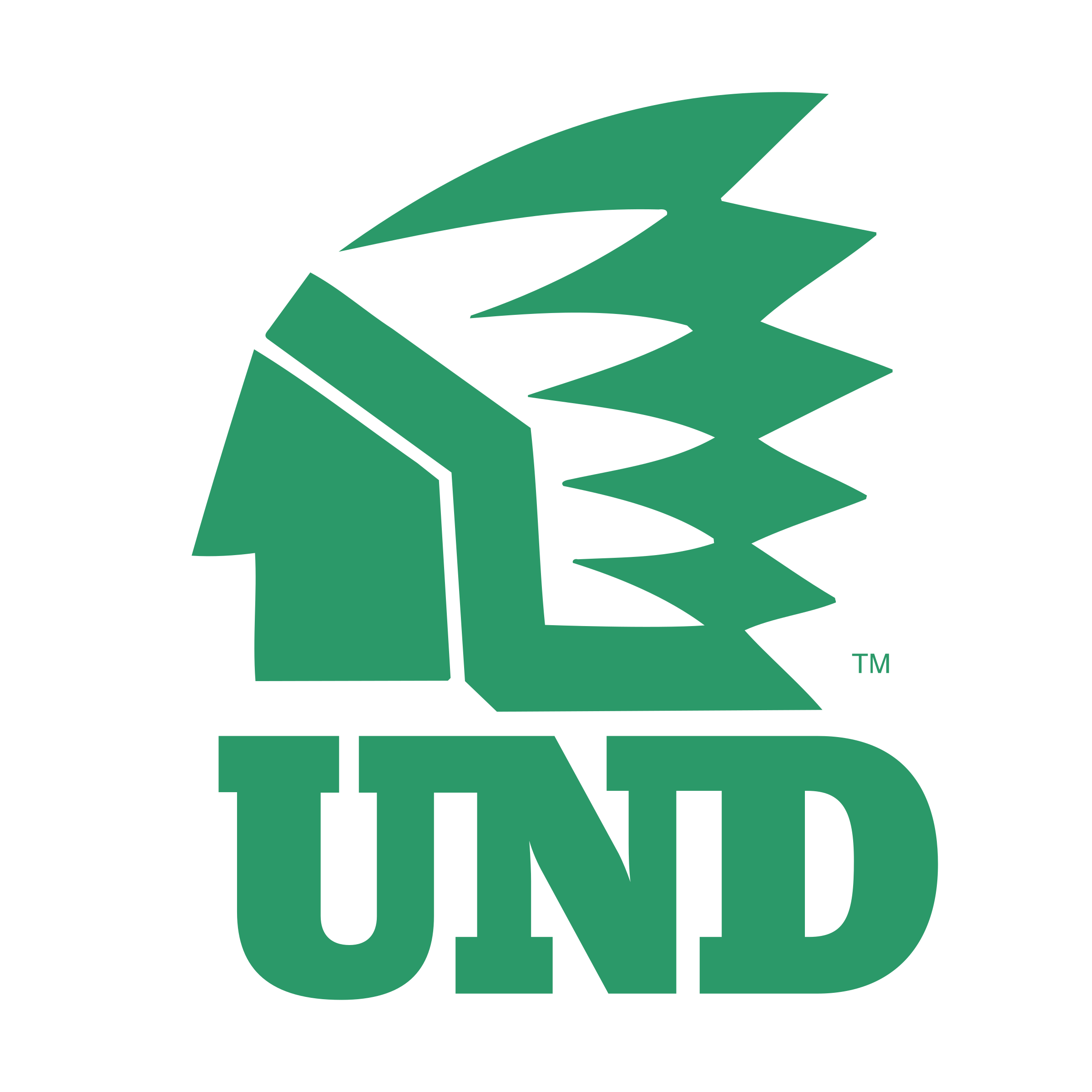 UND Fighting Sioux Logo PNG Transparent & SVG Vector.