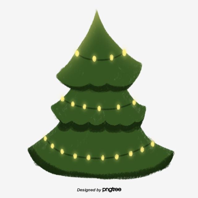 Undecorated Christmas Tree, Christmas Tree, Santa Claus.