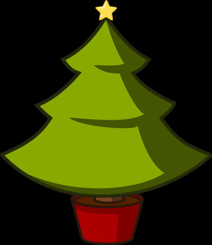 Free Christmas Tree Illustration, Download Free Clip Art.
