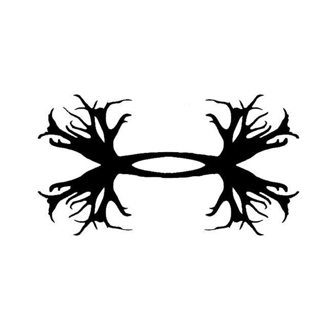 under armour antler logo.