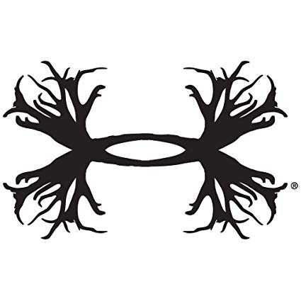 Under Armour UA Antler Logo Decals.