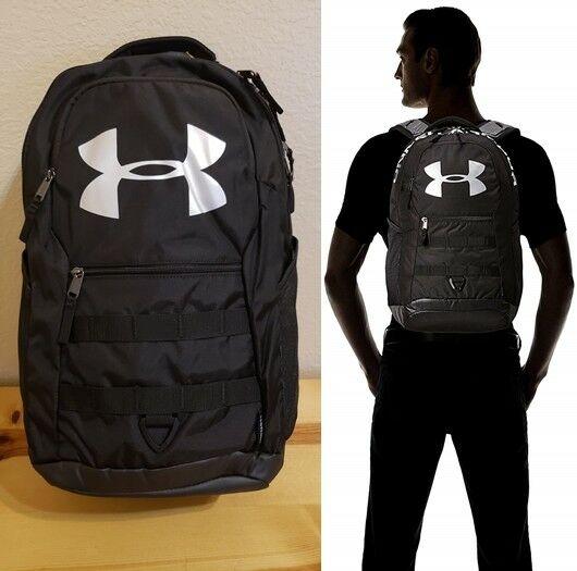 NEW Under Armour Big Logo 5.0 Backpack Rucksack Fits 17\